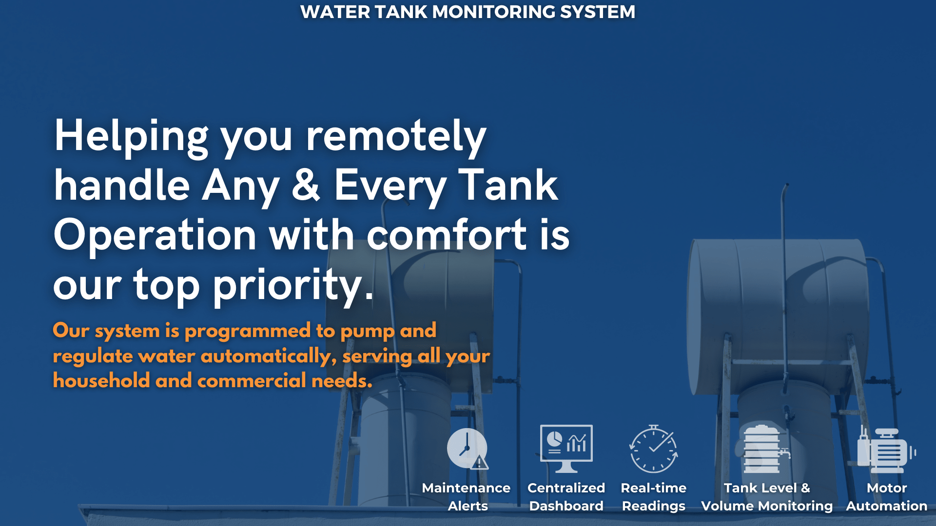 Water Tank Monitoring System 1-min